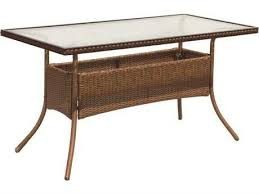 54 x 54 glass table top suncoast kona wicker 54 x 27 rectangular glass dining table