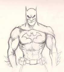 how to draw batman drawing and digital painting tutorials online