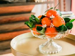 fruit centerpieces diy centerpieces made with fruits and vegetables hgtv