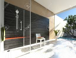 Outdoor Shower Cubicle - outdoor shower images u0026 stock pictures royalty free outdoor