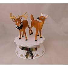 buck and doe cake topper wedding cake topper for deer buck and doe