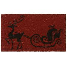 Holiday Doormat Christmas Doormat Buy Christmas Doormats Online Santa U0027s Site