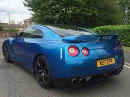 Nissan Gtr Blue - nissan gt r 3 8 black edition 2dr auto private plate u201cgtr