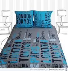 New York City Duvet Cover A Look At Creative Selene And Gaia Bed Linens Home Design Lover