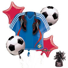 soccer party supplies soccer party balloon kit party supplies walmart