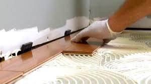 How To Lay A Laminate Floating Floor Installing Engineered Wood Flooring Flooring Designs