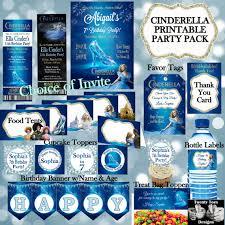 cinderella party pack cinderella movie invitation personalized