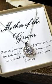 Groom To Bride Card Mother Of The Groom Mother Of The Bride Gift Mother On Law