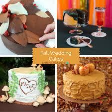 10 beautiful fall wedding cakes craft paper scissors