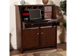 Drop Leaf Computer Desk Market Square Cappuccino Drop Leaf Laptop Desk Armoire Morris