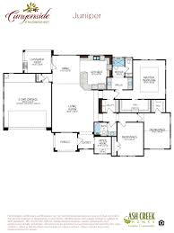 juniper home plan by ash creek homes inc in canyonside at