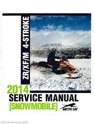 arctic cat snowmobile manuals repair manuals online