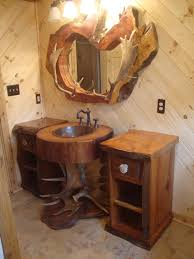 rustic cabin bathroom ideas rustic bathroom vanities unique bathroom vanities for rustic