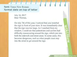 how to write a criticizing letter with sample letters