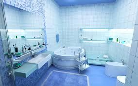 blue bathroom design home design ideas