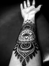 best tribal tattoos on arm sleeves back