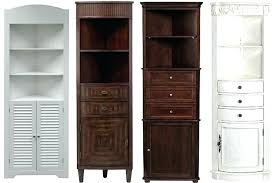 Bathroom Corner Storage Cabinet Bathroom Storage Corner Unit Klyaksa Info