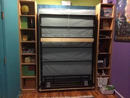Hide A Beds Ikea by Billy Bookcases Transform Into Murphy Bed Ikea Hackers