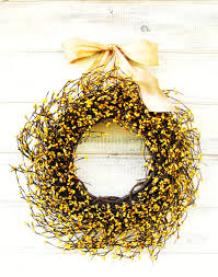 home decor gifts for mom spring wreaths spring home decor yellow berry wreath summer home