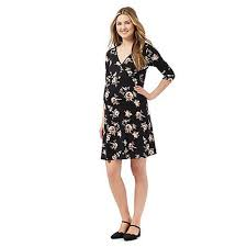 herring maternity fashionable herring maternity black floral print maternity