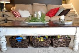 coffee table with baskets under 15 ways to use open storage to organize your home