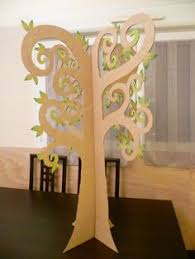 Deco Chambre High Amazing Cardboard 3d Cardboard Tree With Paper Flowers By Thepapercarousel On Etsy