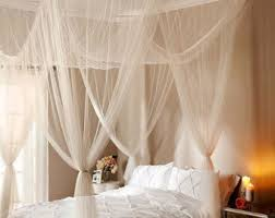 Sheer Bed Canopy Bed Canopy Etsy