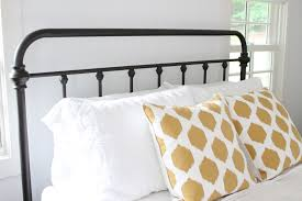Pottery Barn Iron Bed The Picket Fence Projects Bedtime