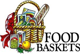 thanksgiving food basket clipart clipground