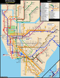 Yankee Stadium Map Nyc Subway Map From Liberty Harbor Rv To Columbia Stadium Grove