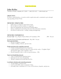 create resume templates free resume templates for ministry ministry resume templates gse