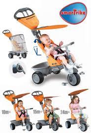 Smart Trike Recliner Smart Trike Recliner Kočík Oranžový Andrea Shop