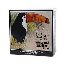 light mountain natural hair color black light mountain natural hair color and conditioner black 4 fl oz