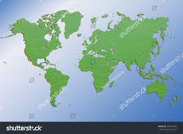 map usa to europe dimensional green wold map usa europe stock photo 204614005
