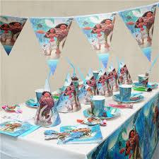 birthday supplies moana kids birthday party decoration set party supplies