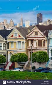 painted ladies victorian houses in alamo square san francisco