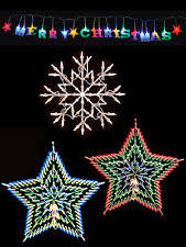indoor christmas window lights star indoor 20 50 christmas lights ebay