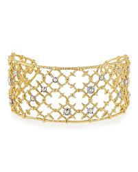 wire lace bittar studded wire lace spur cuff bracelet in