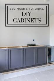 how to build shaker style kitchen cabinets diy kitchen cabinets for 200 a beginner s tutorial