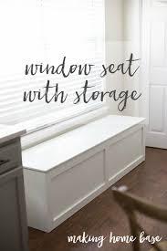 storage bench how to build a window seat with storage diy tutorial extra