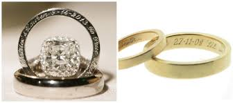 customize wedding ring 2017 engravings on wedding rings
