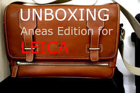 leica bags unboxing aneas for leica system bag