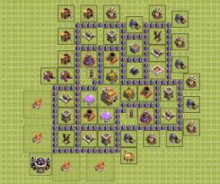 layout coc town hall level 7 wich th7 layout is better