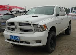 white dodge truck dodge ram 1500 truck is matte white in china carnewschina