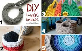 How To Make T Shirt Yarn Rug Making Yarn From An Old T Shirt Make And Takes