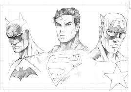 photos superheroes pencil drawings drawing art gallery