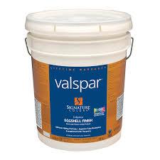 shop valspar signature colors 5 gallon interior eggshell base 1
