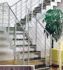 Stainless Steel Stair Handrails Steel Railing Of Staircase Staircase Gallery
