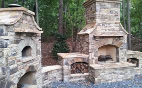 outdoor stone fireplace outdoor fireplaces stone fireplace brick fireplace