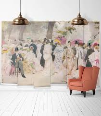 a jovial afternoon wall mural from the erstwhile collection a jovial afternoon wall mural from the erstwhile collection